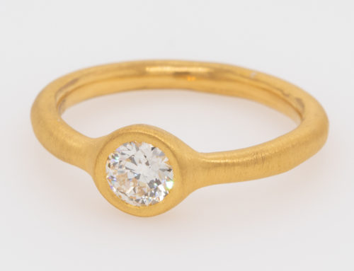 24K Gold Ring – #45 – RG25ED